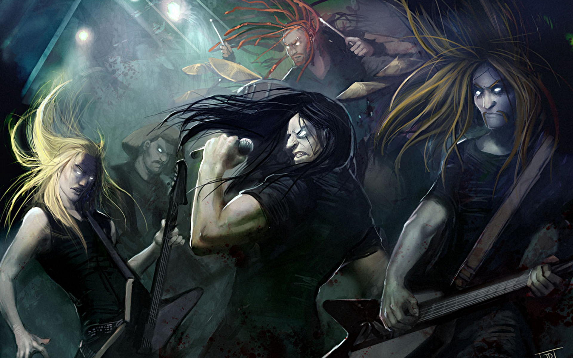 dethklok wallpaper