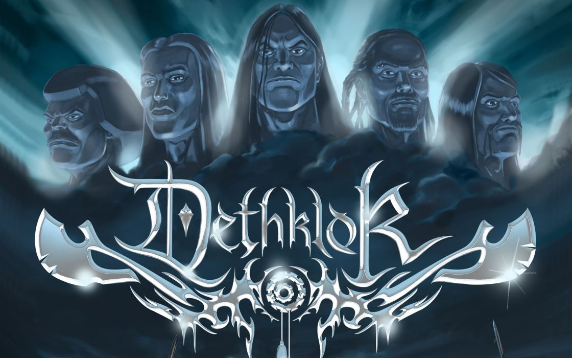 Dethklok heavy metal music cartoons hard rock band groups metalocalypse     r wallpaper