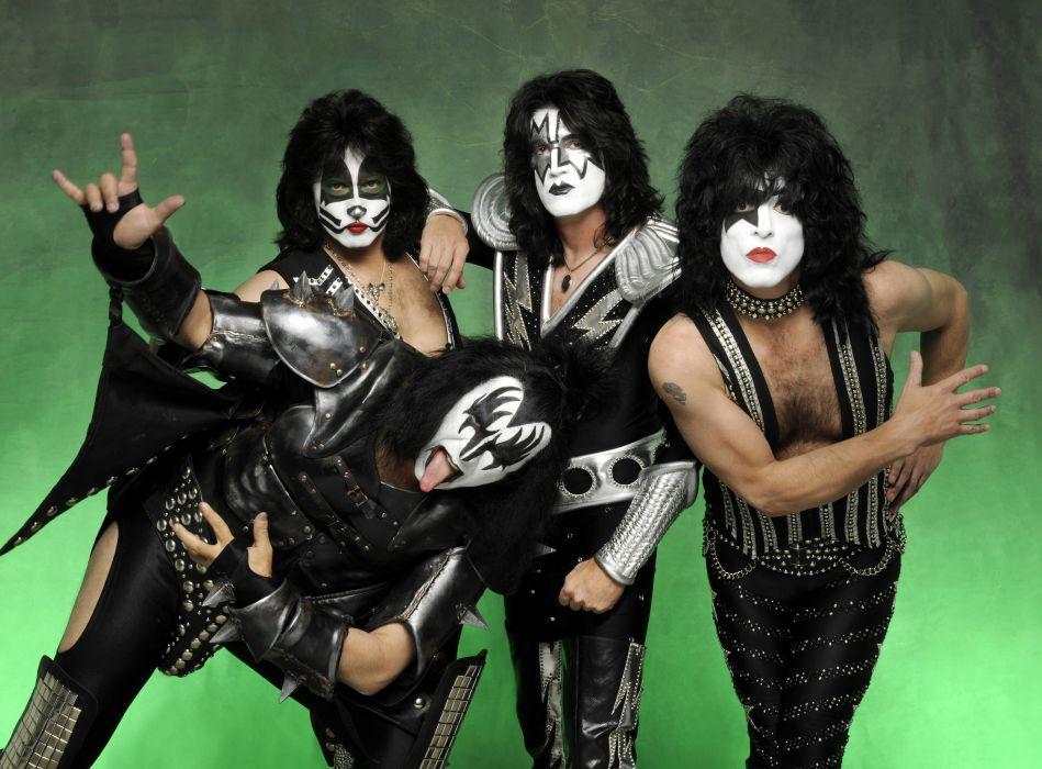 Kiss heavy metal rock bands      e wallpaper