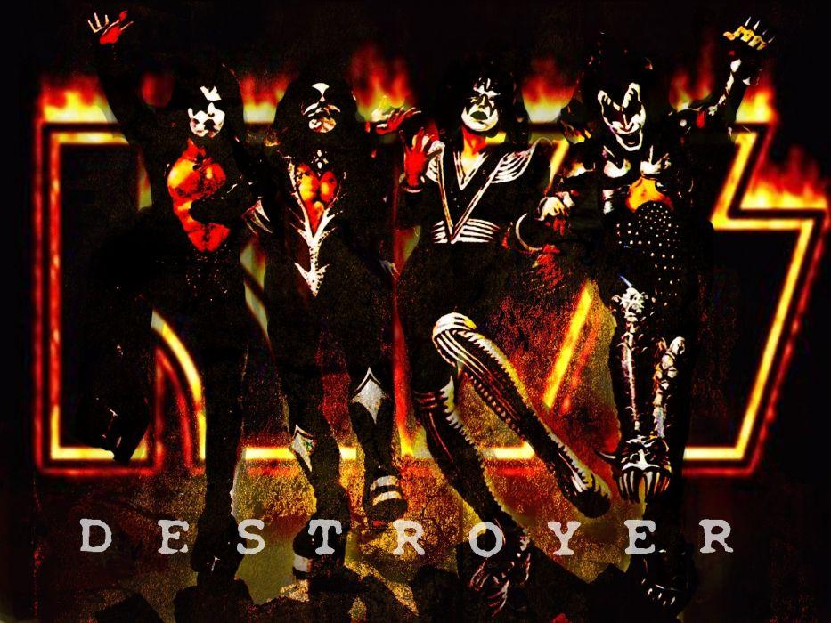Kiss heavy metal rock bands   r wallpaper