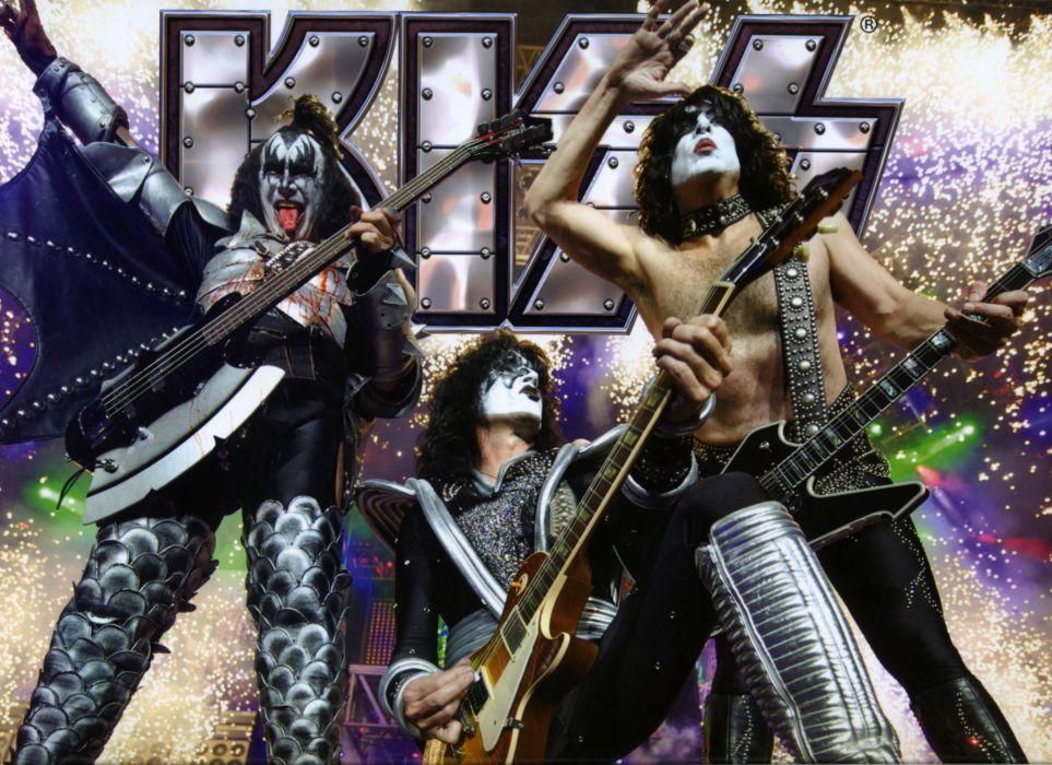 Kiss heavy metal rock bands concert guitar    f wallpaper