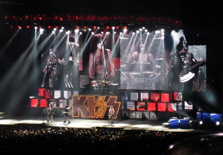 Kiss heavy metal rock bands concert guitar drums r wallpaper