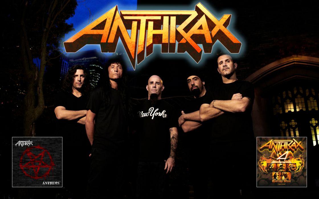 Anthrax heavy metal hard rock bands     u wallpaper