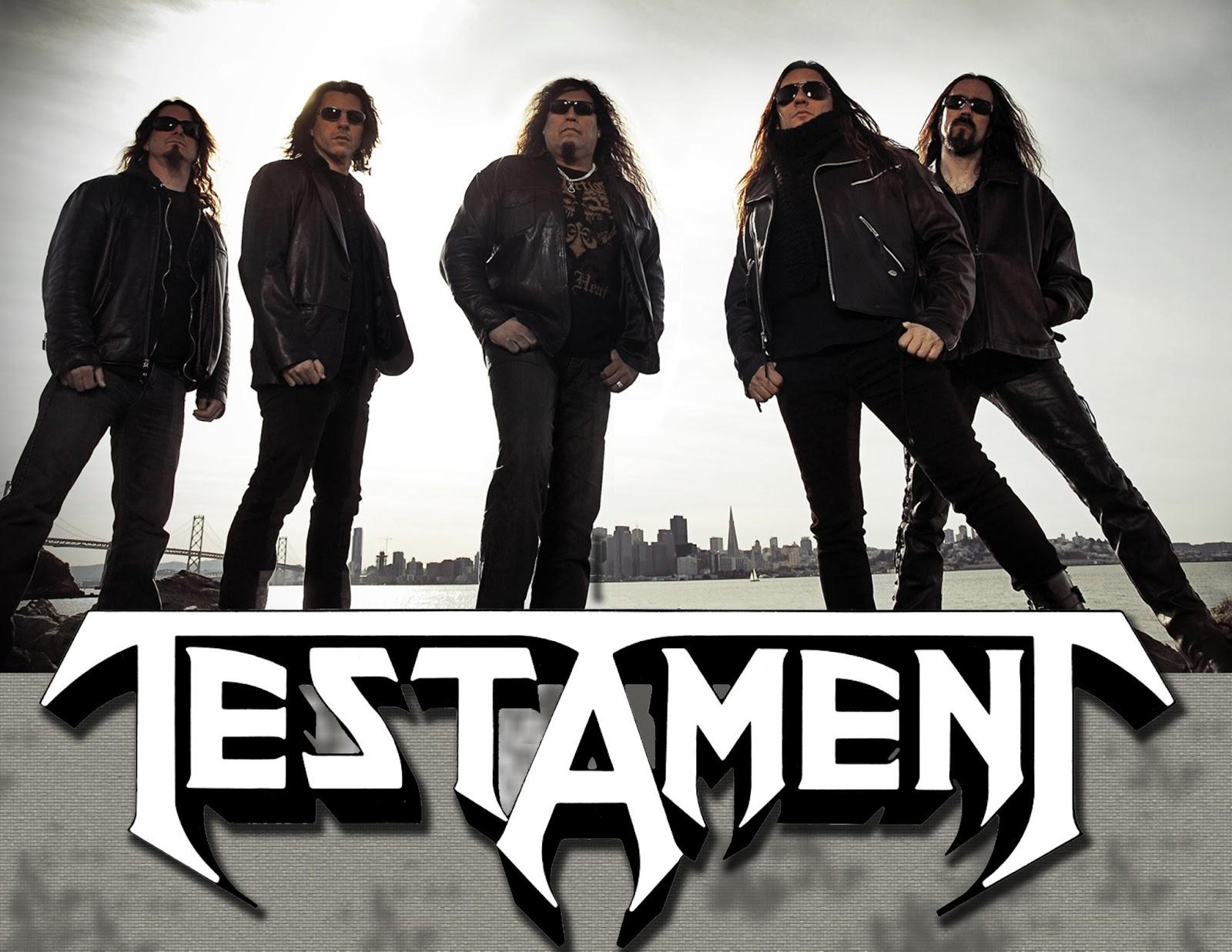 Testament Heavy Metal Hard Rock Band Q Wallpaper