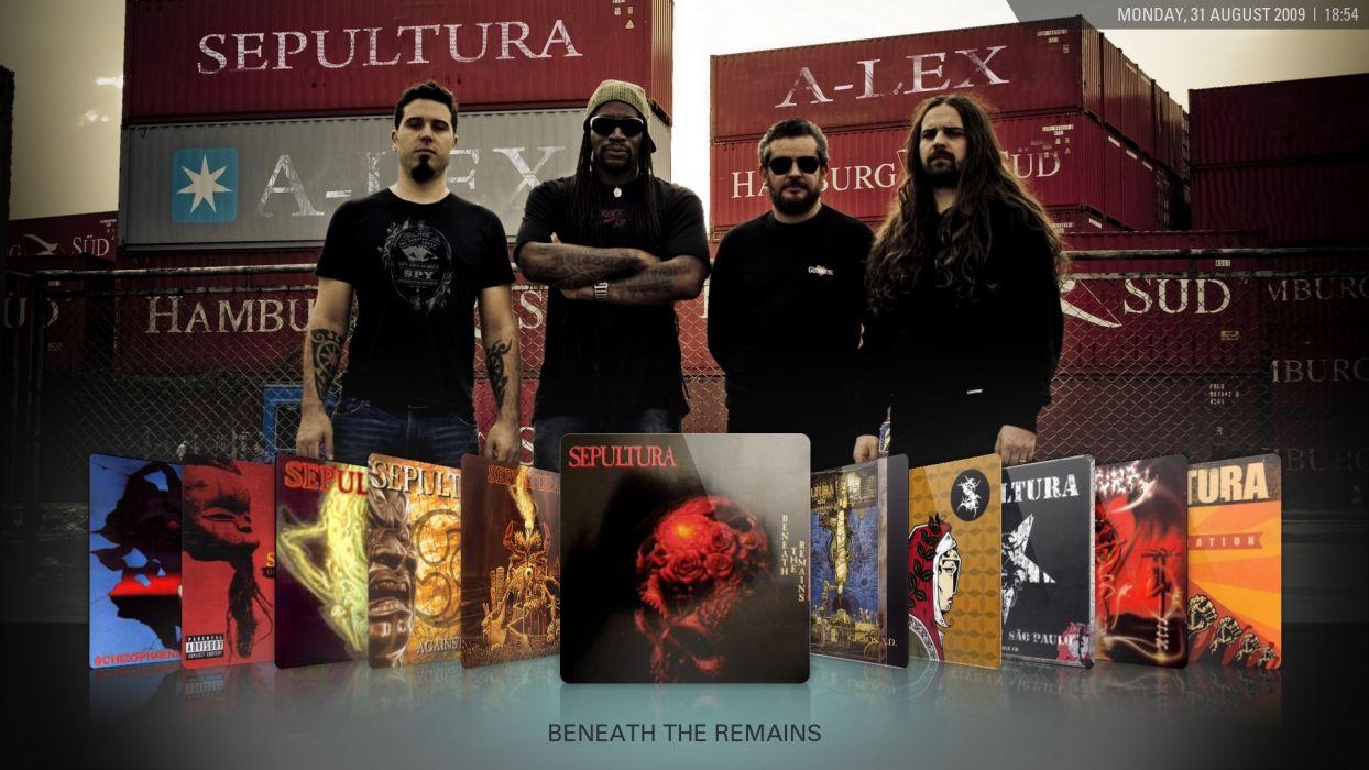 sepultura heavy metal hard rock bands      v wallpaper