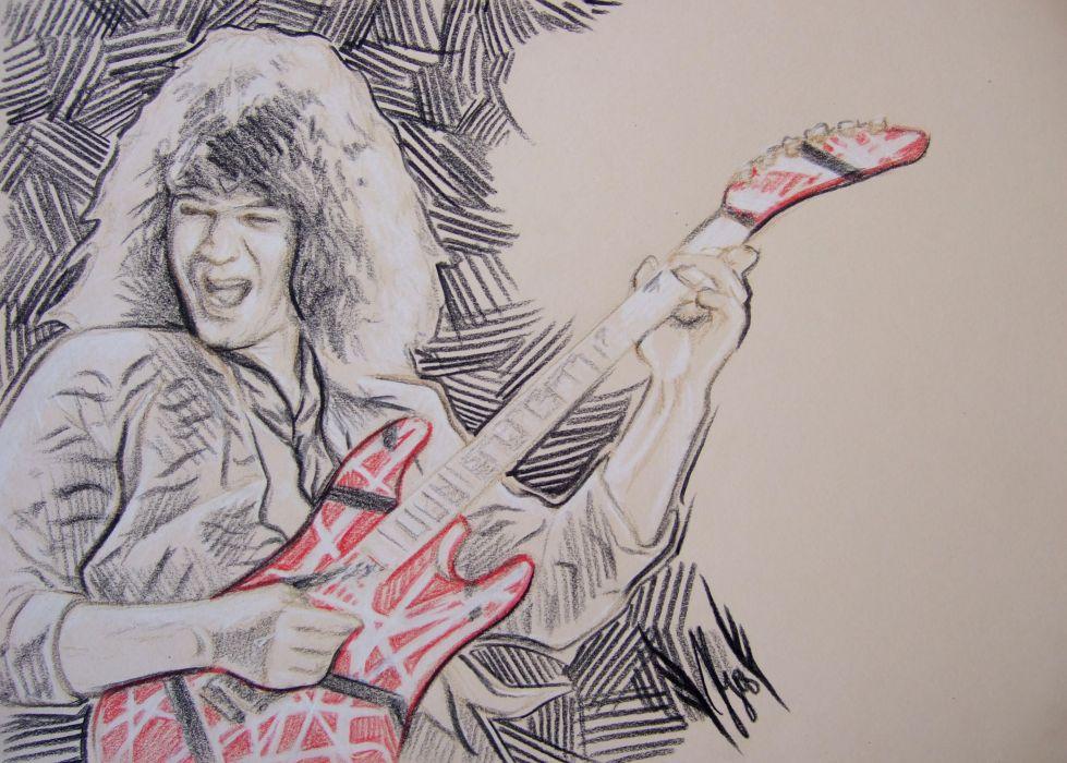 VAN HALEN heavy metal hard rock bands guitar wallpaper
