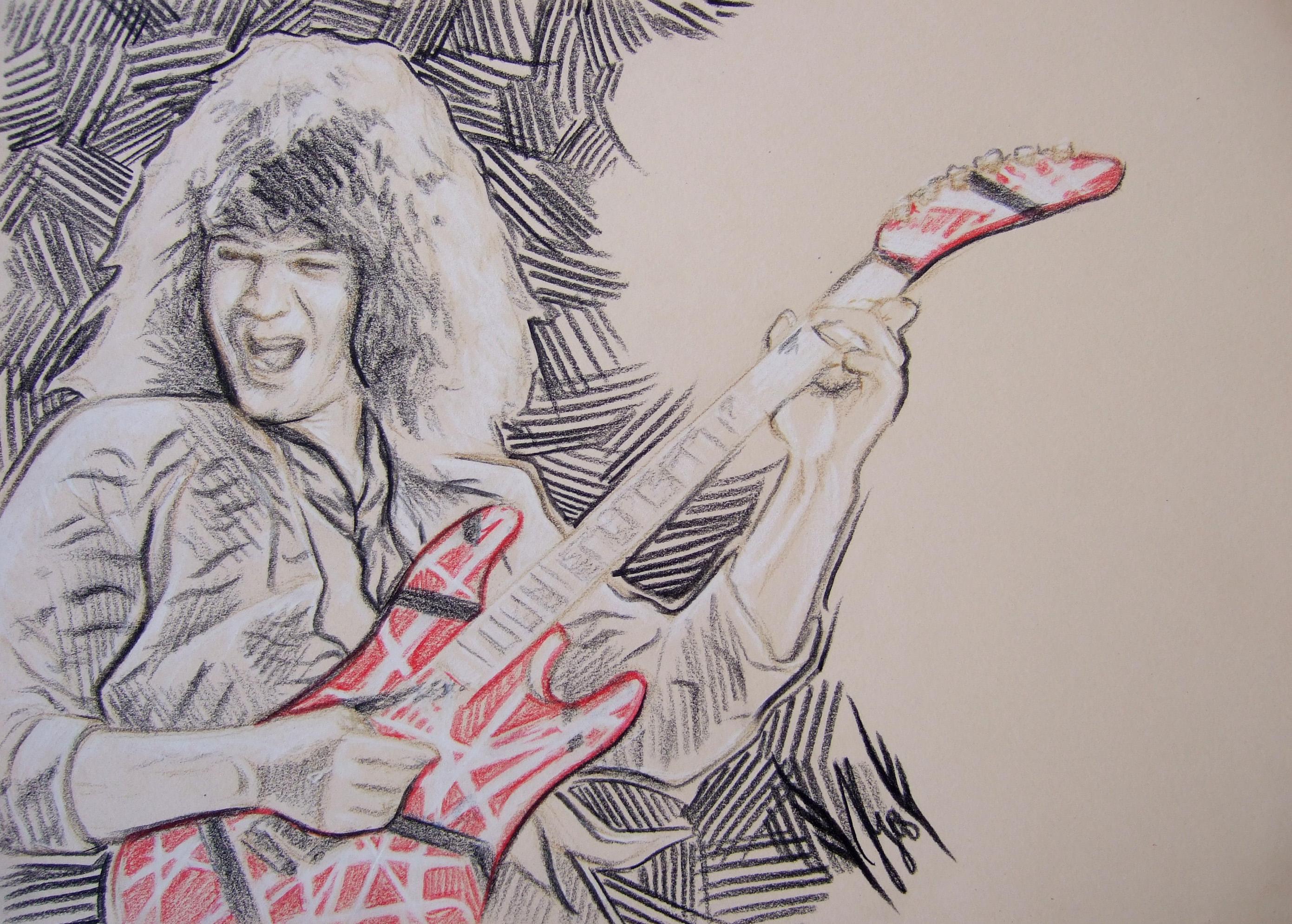 Van Halen Heavy Metal Hard Rock Bands Guitar Wallpaper 2781x1989 74175 Wallpaperup