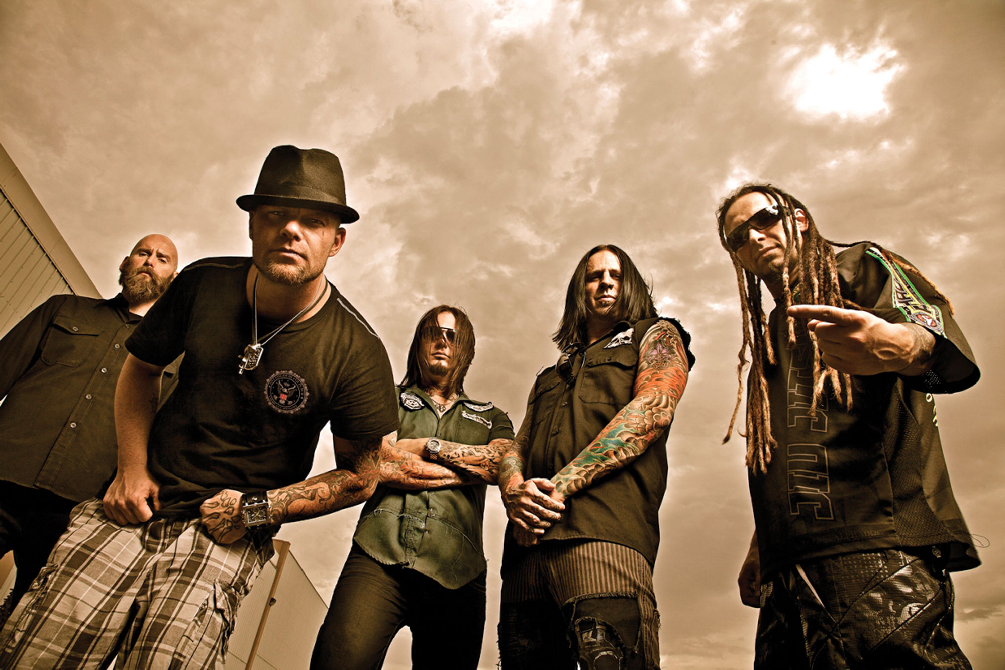 five finger death punch heavy metal hard rock bands h