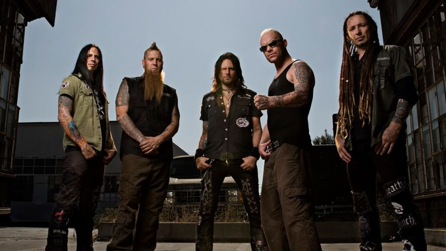FIVE FINGER DEATH PUNCH heavy metal hard rock bands z wallpaper