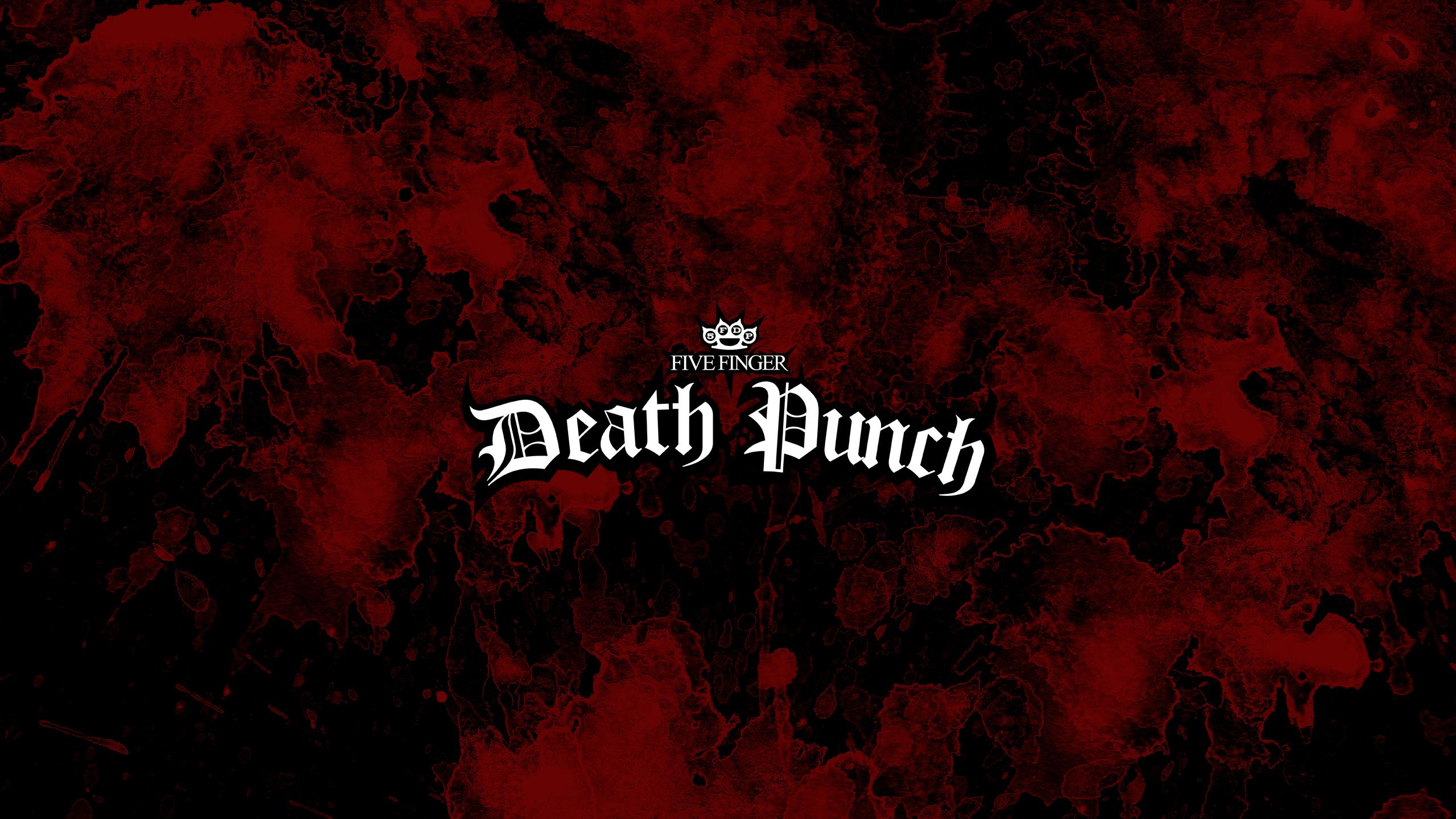FIVE FINGER DEATH PUNCH Heavy Metal Hard Rock Bands T