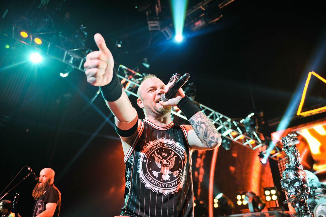 FIVE FINGER DEATH PUNCH heavy metal hard rock bands concert wallpaper