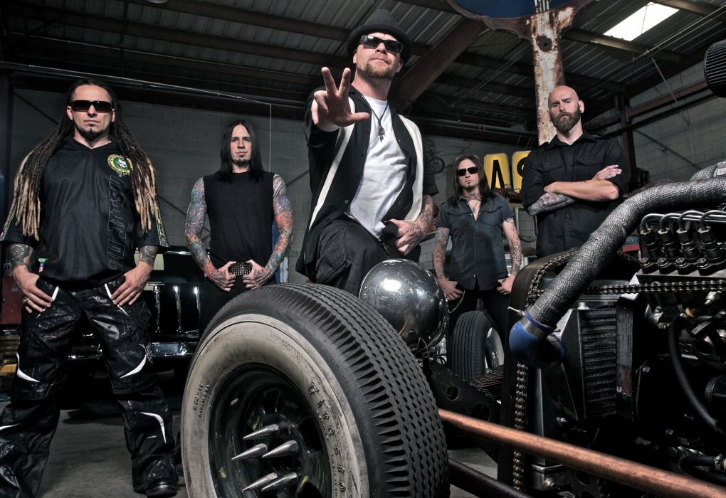 FIVE FINGER DEATH PUNCH heavy metal hard rock bands rat rod hot retro classic wallpaper