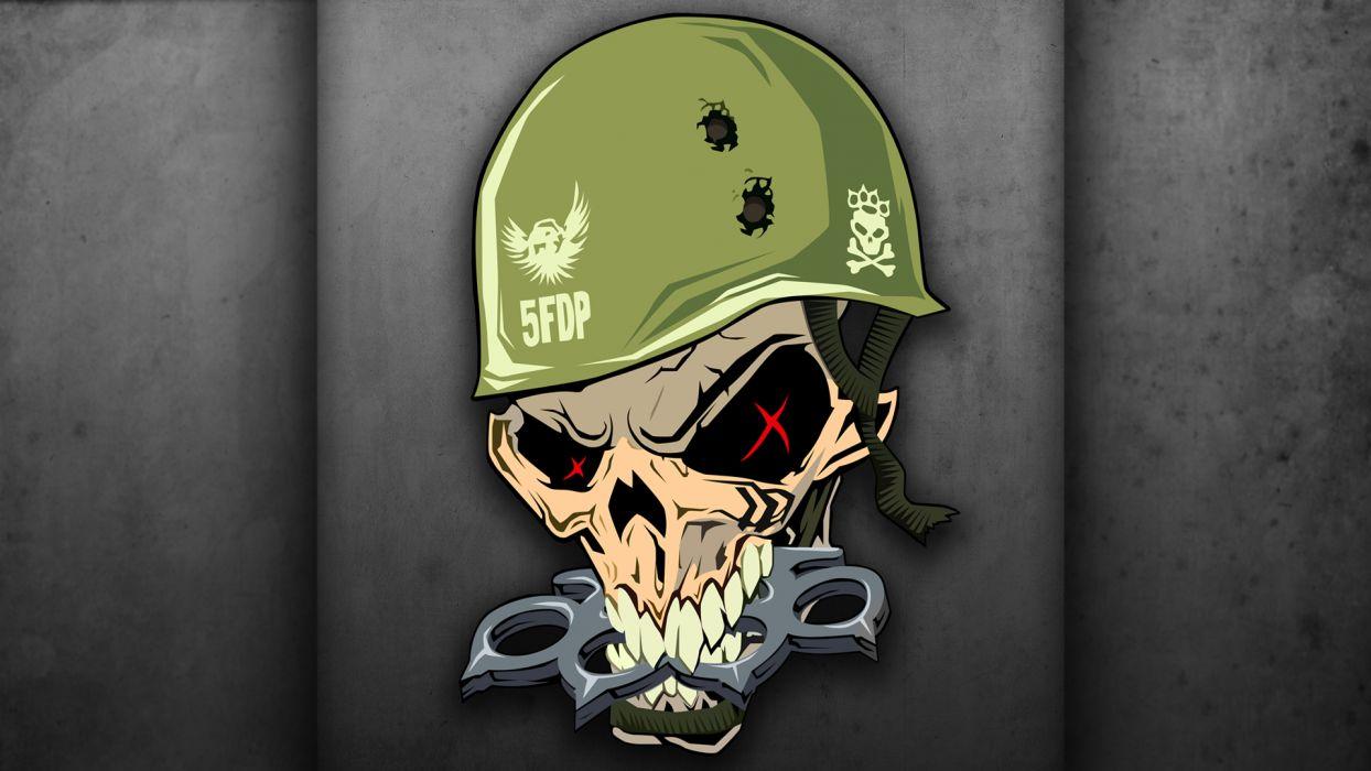 FIVE FINGER DEATH PUNCH heavy metal hard rock bands skull skulls    e wallpaper