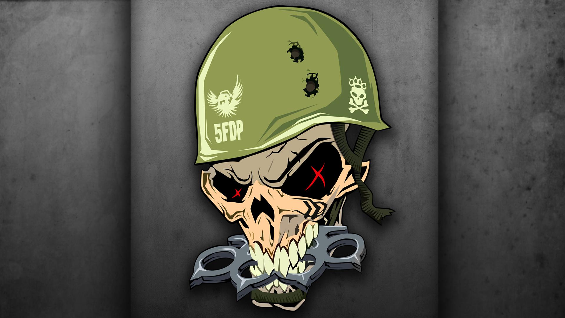 FIVE FINGER DEATH PUNCH heavy metal hard rock bands skull skulls e wallpaper | 1920x1080 | 74286 | WallpaperUP