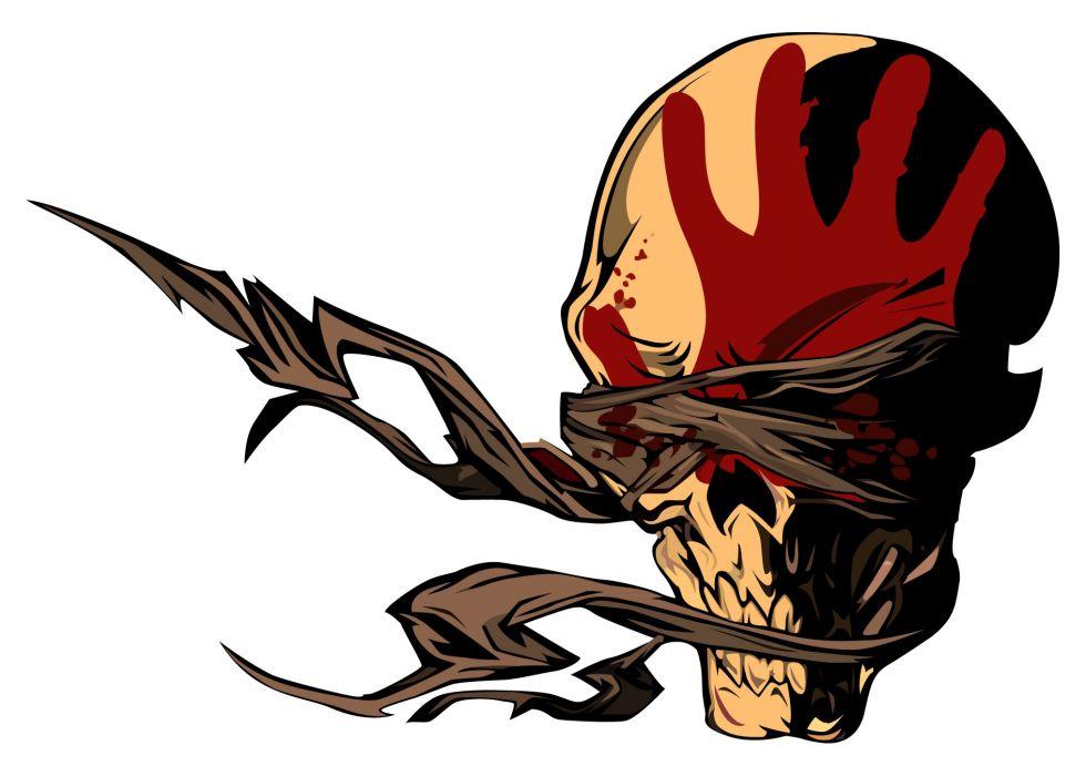 five finger death punch heavy metal hard rock bands skull skulls rh wallpaperup com heavy metal bands wallpaper iphone Rap Logo Wallpaper
