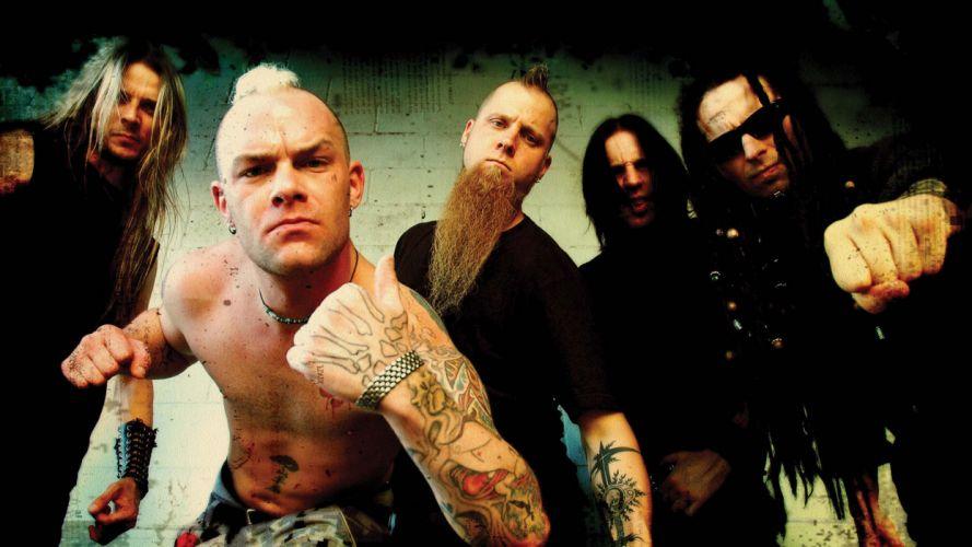 FIVE FINGER DEATH PUNCH heavy metal hard rock bands wallpaper