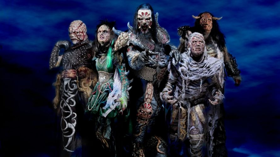 Lordi heavy metal bands dark d wallpaper