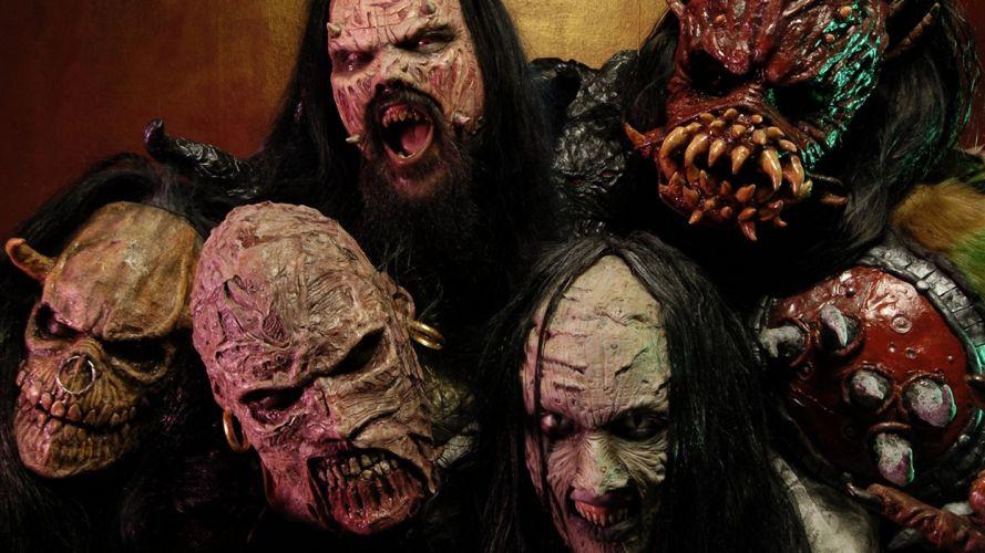 Lordi heavy metal bands dark n wallpaper