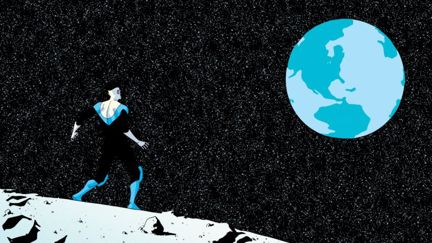 Invincible Marvel Stars Planet Earth wallpaper