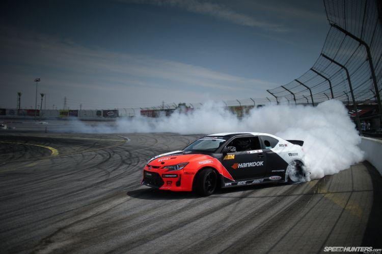Scion TC Drift Smoke wallpaper