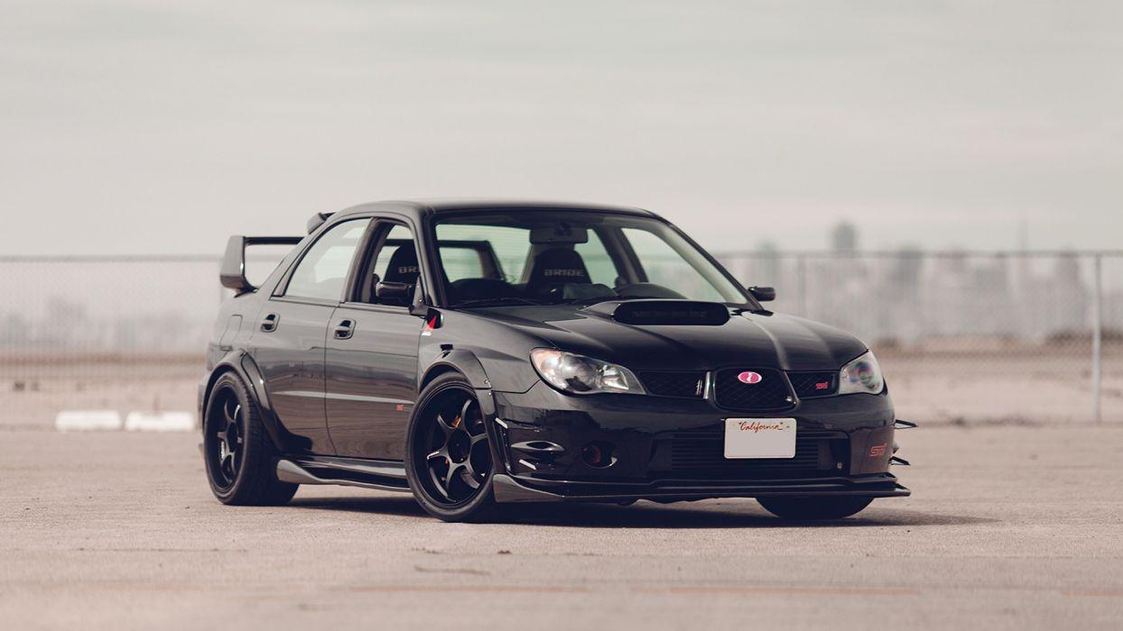 Cars Tuning Subaru Impreza Wrx Jdm Wallpaper: Subaru WRX STI Tuning Wallpaper
