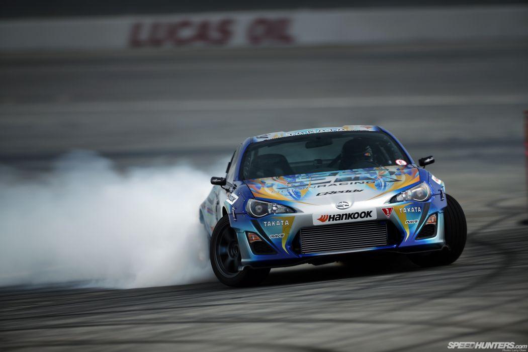 Toyota FR-S GT86 Scion Drift Smoke wallpaper