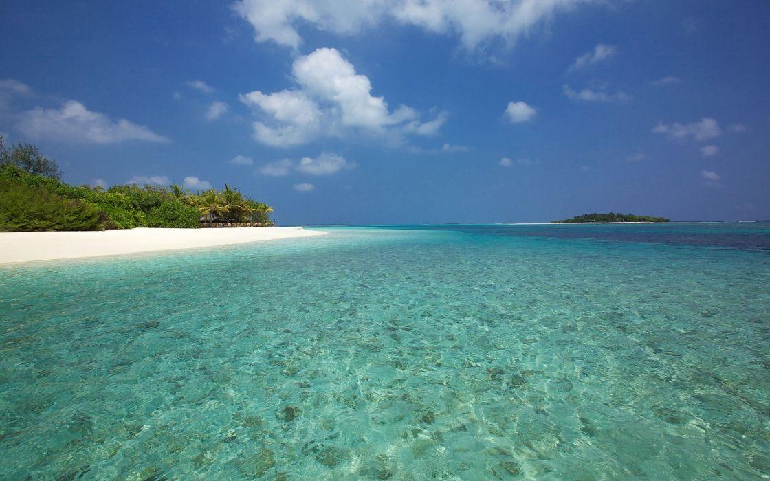maldives sea bereg_ostrov beach islands ocean beaches wallpaper