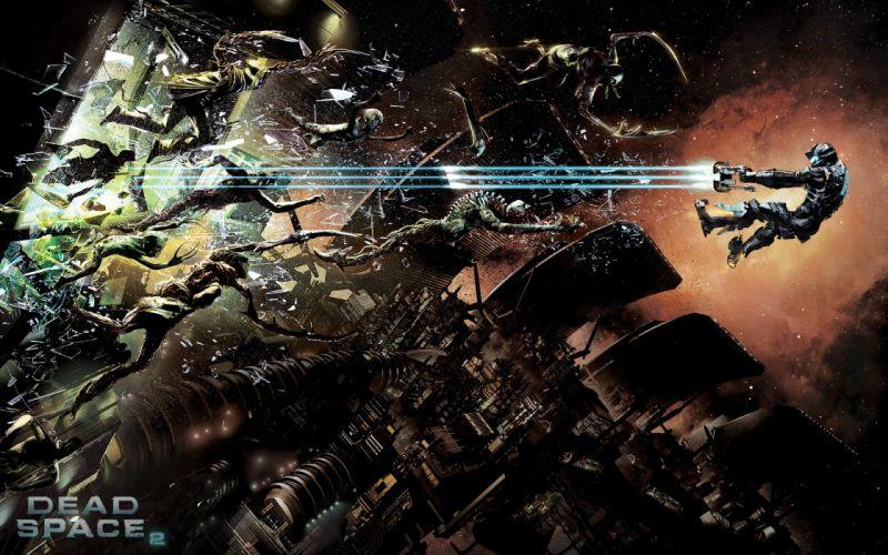 Dead Space videogames sci-fi futuristic d wallpaper