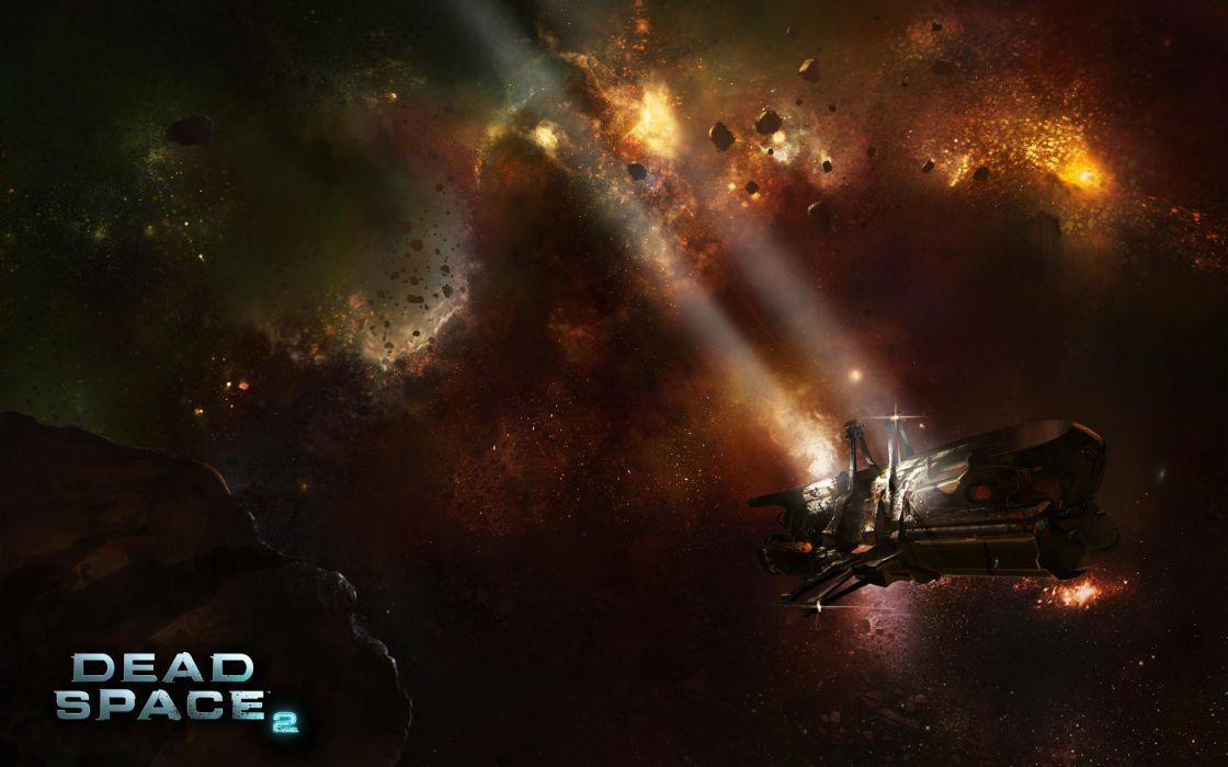 Dead Space videogames sci-fi futuristic spaceship space wallpaper