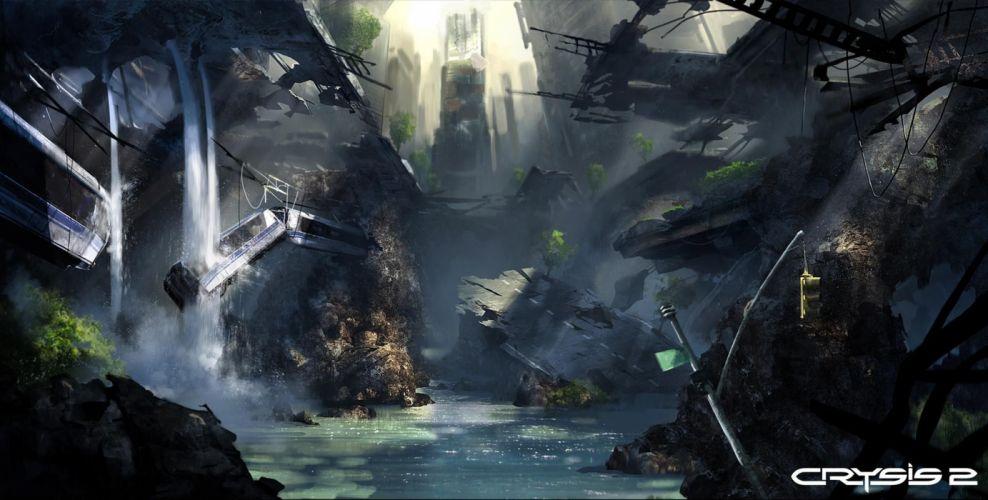 Crysis sci-fi v wallpaper