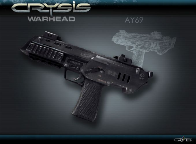 Crysis sci-fi weapons q wallpaper