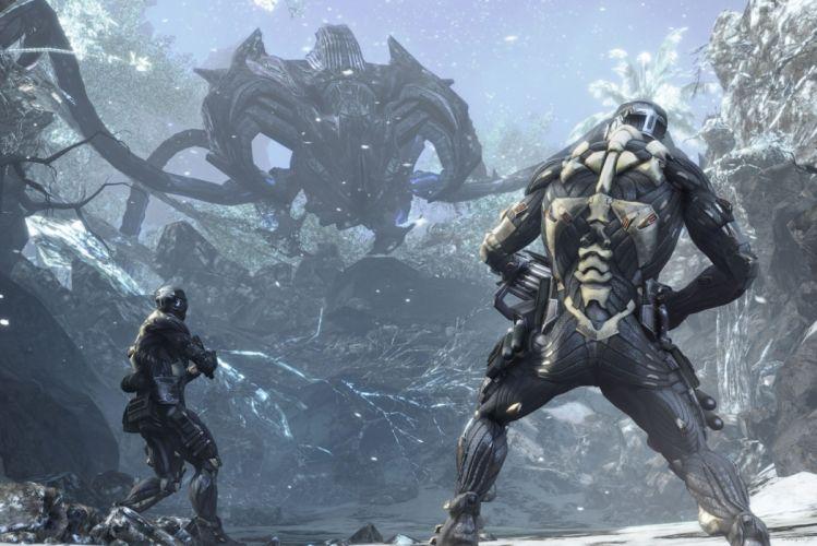 Crysis sci-fi weapons w wallpaper
