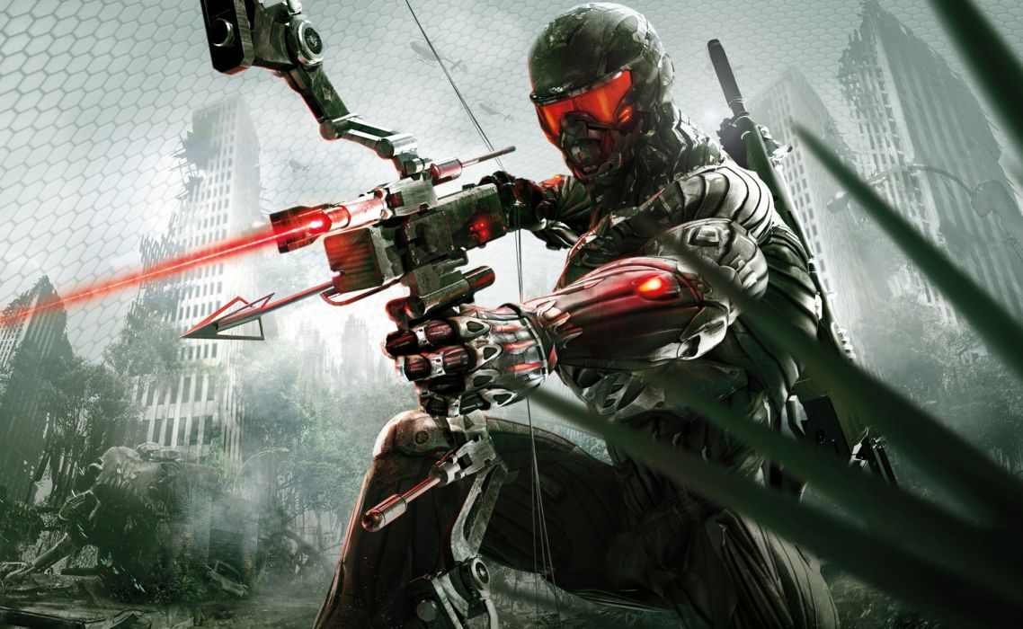 Crysis sci-fi weapons      e wallpaper