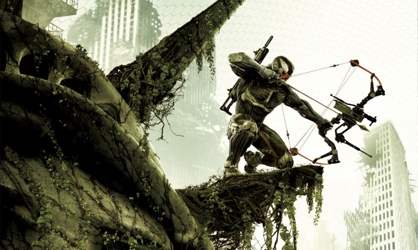 Crysis sci-fi weapons t wallpaper