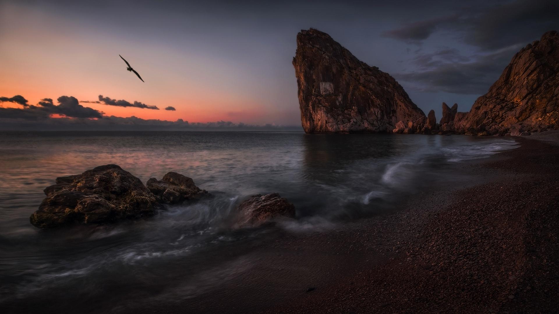 Crimea Beach Wallpaper