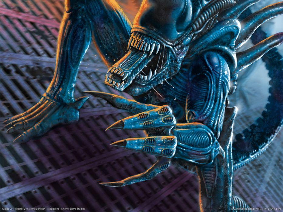 Aliens vs_ Predator Games sci-fi alien       e wallpaper