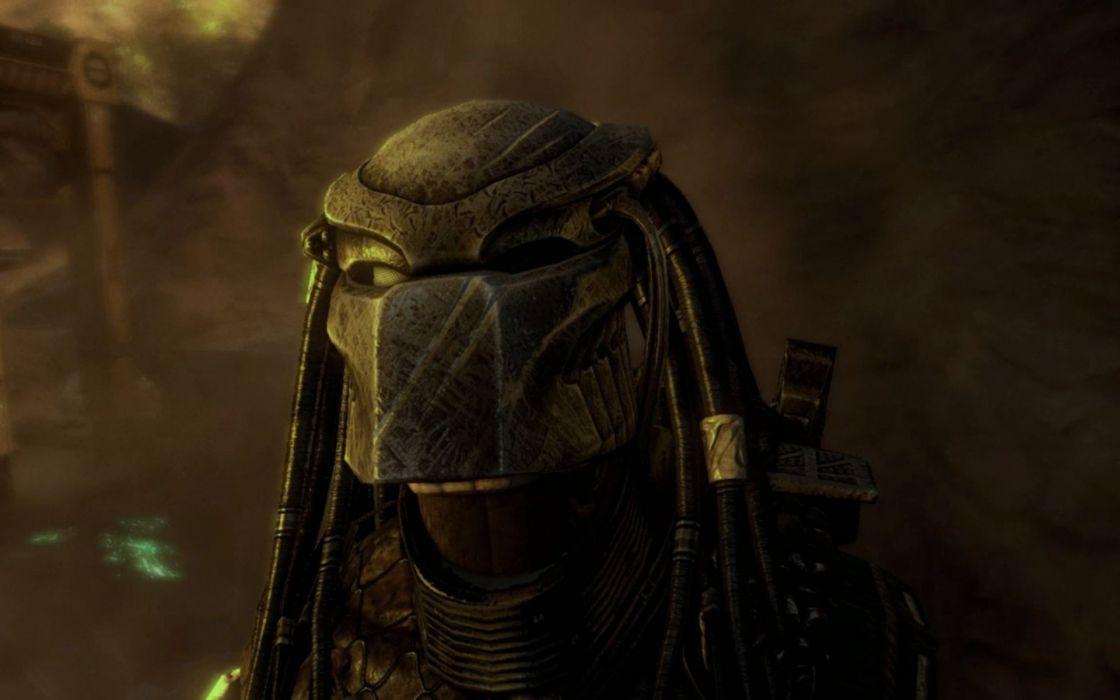 Aliens vs_ Predator Games sci-fi alien      o wallpaper