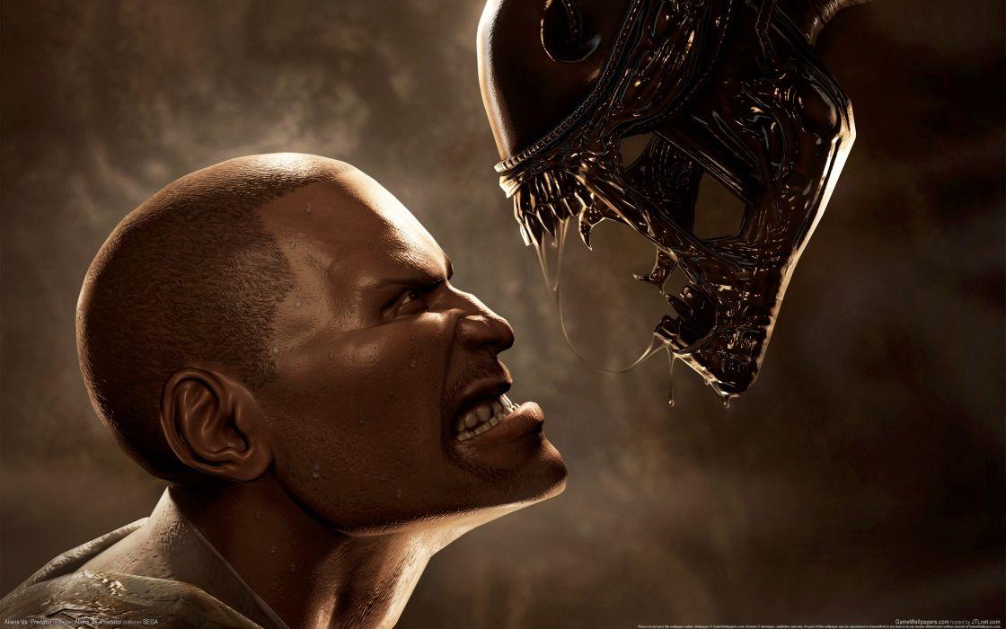 Aliens vs_ Predator Games sci-fi alien      w wallpaper