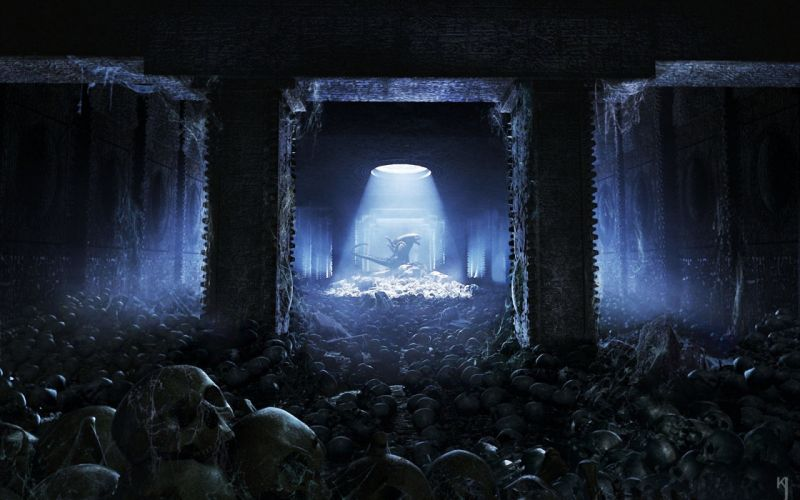 Aliens vs_ Predator Games sci-fi alien q wallpaper