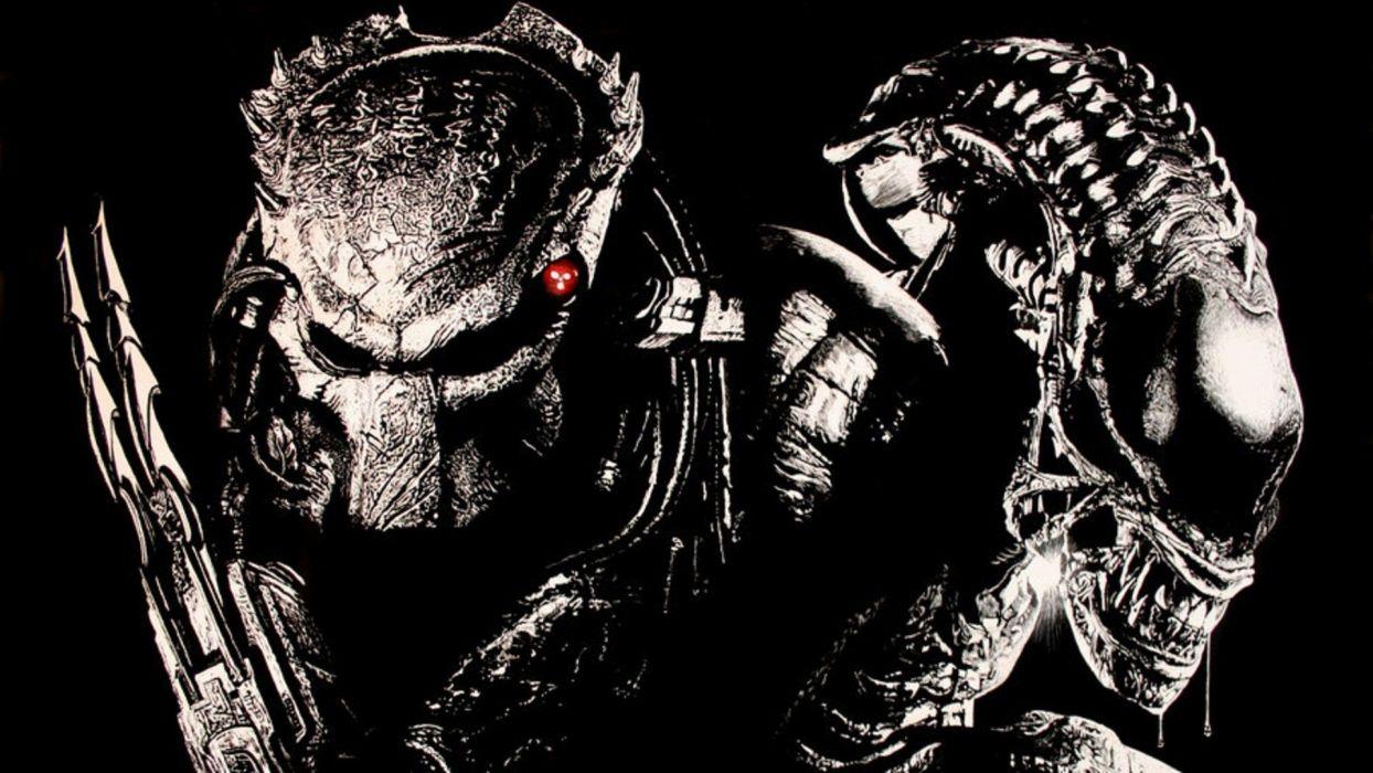 Aliens vs_ Predator Games sci-fi alien movies        r wallpaper