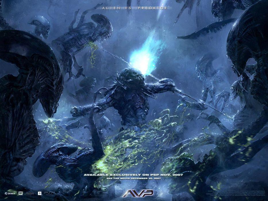 Aliens vs_ Predator Games sci-fi alien movies      e wallpaper