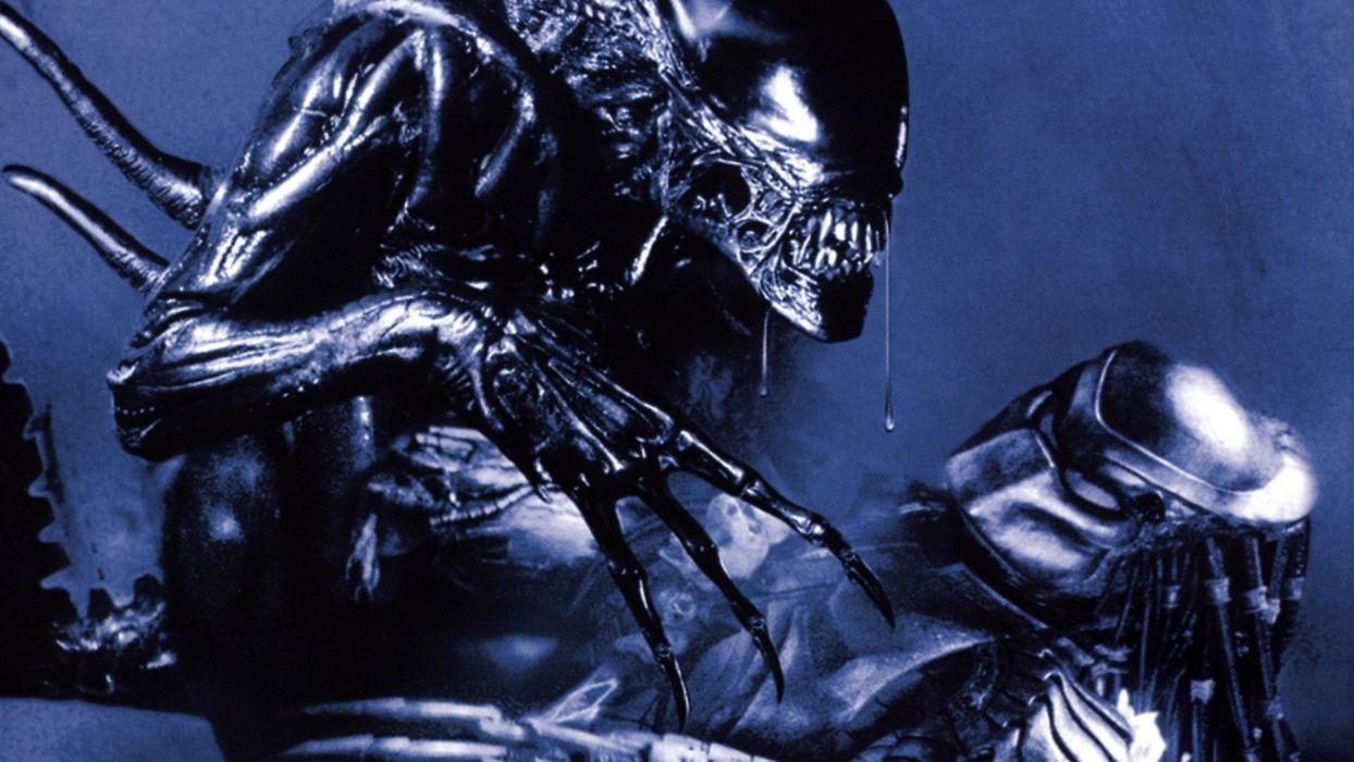 Aliens vs_ Predator Games sci-fi alien movies     v wallpaper