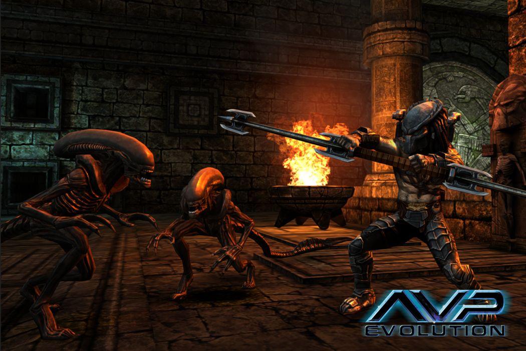 Aliens vs_ Predator Games sci-fi alien weapons       u wallpaper