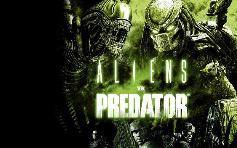 Aliens vs_ Predator Games sci-fi alien weapons y wallpaper