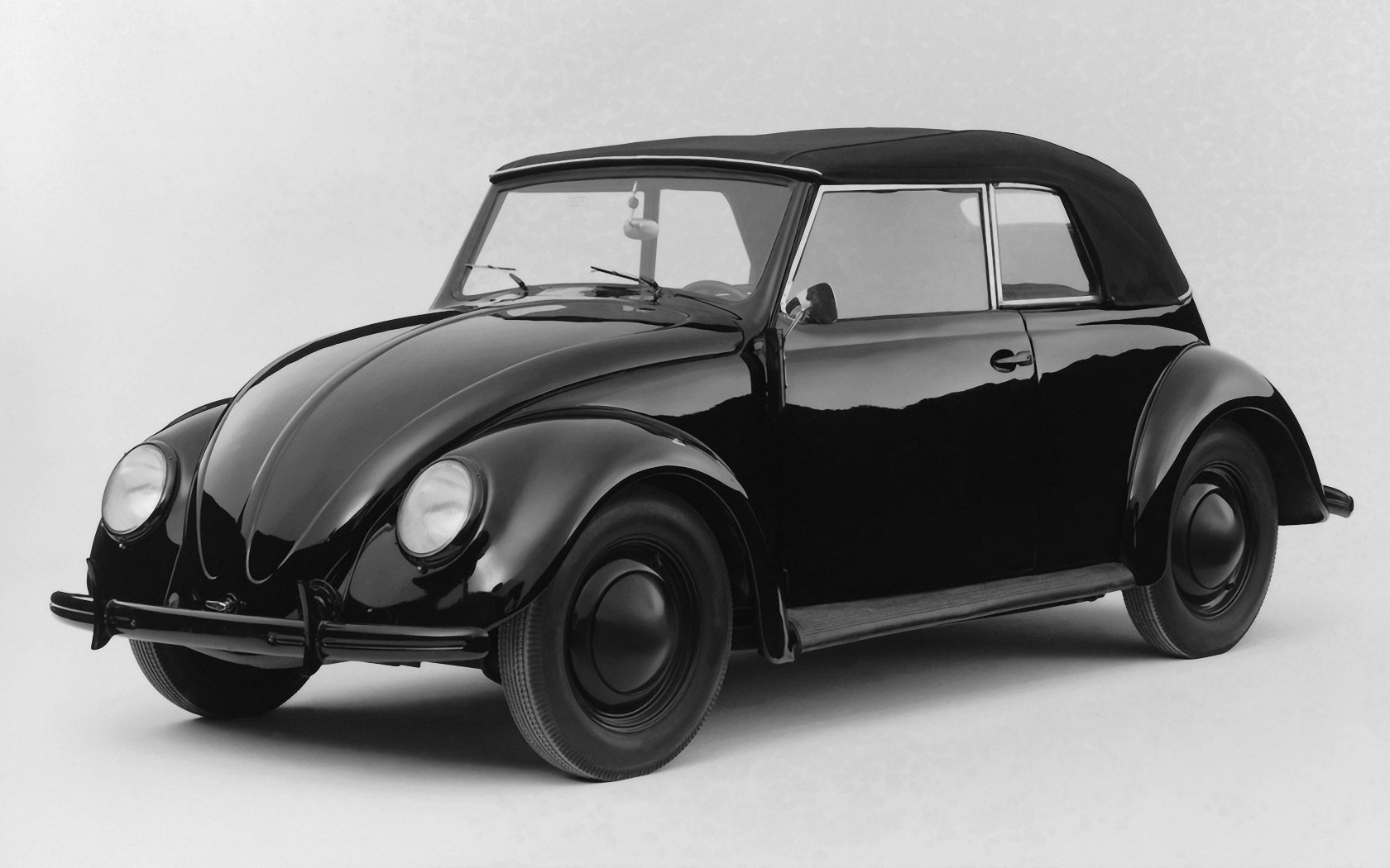 Bug Volkswagen Volkswagen Beetle black cars wallpaper ...