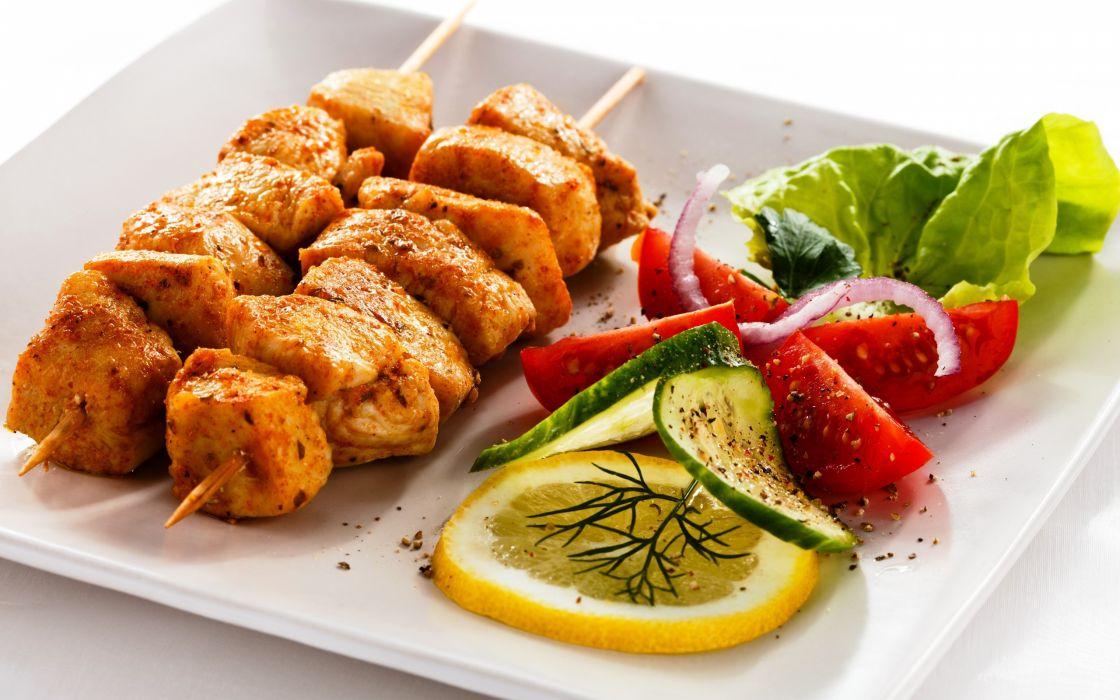 food kebab wallpaper