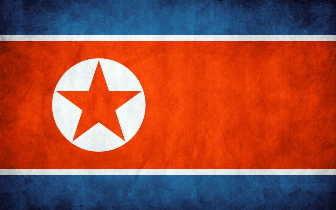 flags North Korea wallpaper