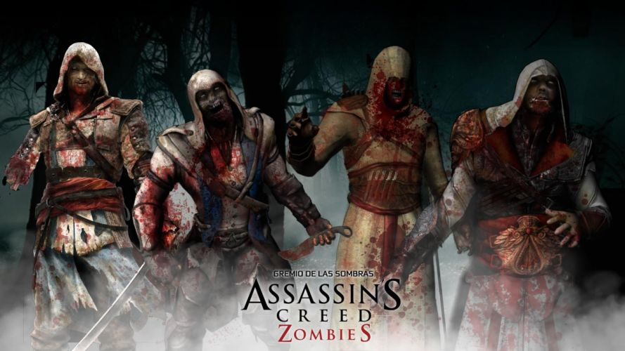Assassin's Creed Zombies Blood dark wallpaper