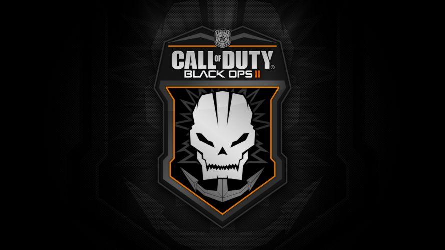 Call of Duty Black Ops COD Black skulls skull dark wallpaper