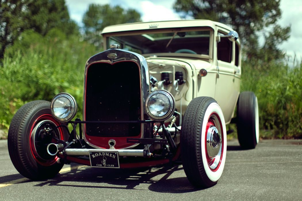 Ford retro classic cars hot rod rods wallpaper